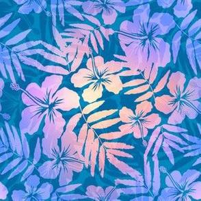 Violet pearl flowers