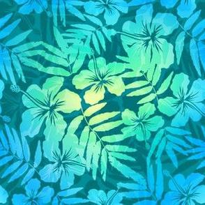 Green pearl tropic flowers