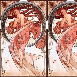 Dancer by Alfons Mucha