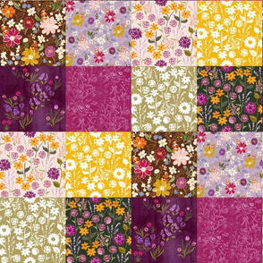 Fall Wildflower Quilt