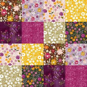 Fall Wildflower Patchwork