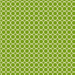 Hoop Dot / Lime