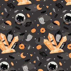 cat gothic halloween