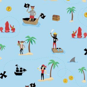 Bad Girl Pirates Large
