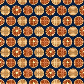 """(1"""" scale) waffles - navy - C20BS"""