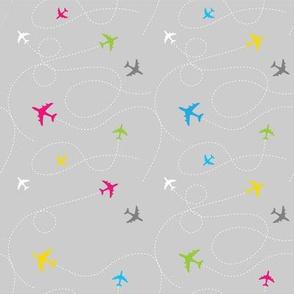 Airplanes Multicolour