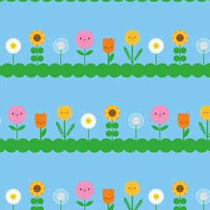 Kawaii Flower Field