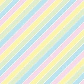 Kawaii Pastel Stripes