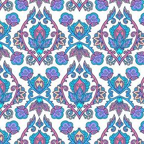 Blue turkish ornament