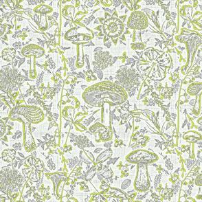 mushroom garden chartreuse