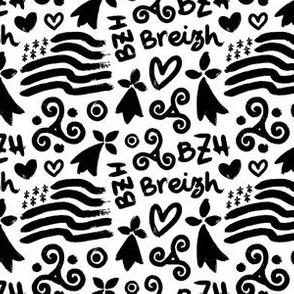 Breton symbols and flags