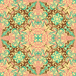 Intricate Arabesque