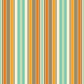 Autumn River Stripes Medium