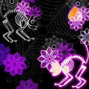 Flower Bones and Cat Bones