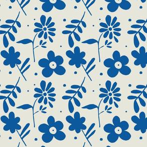 Fi's Flowers Blue