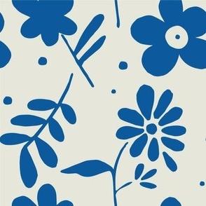 Fi's Flowers LRG Blue