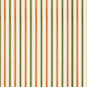 Pumpkin Patch Ticking Stripe