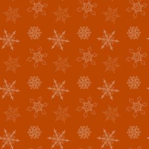 Gingerbread Snowflake