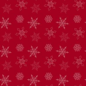 Cranberry Snowflake