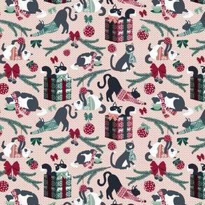 Fair Isle knittens // MINI