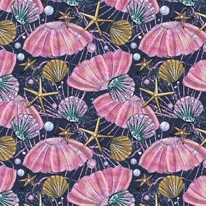 Sirene Shells, Starfish  & Pearls