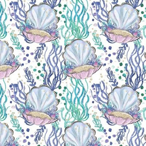Mermaid Oyster Shells // Mermaid Wishes