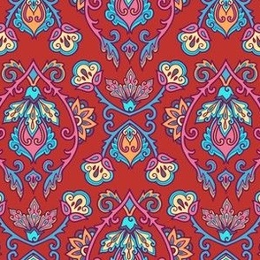Red Turkish style ornament