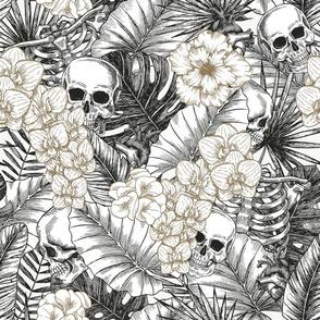 Tropical anatomy halloween