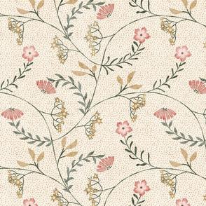 Trailing floral pattern Bella Nora