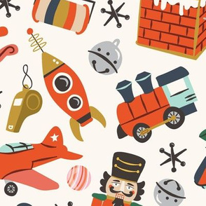 Vintage Christmas Toys | Large Scale