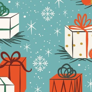 Retro Christmas Gifts | Extra Large Scale