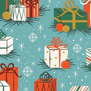 Retro Christmas Gifts | Large Scale