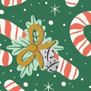 Vintage Candy Canes | Extra Large Scale
