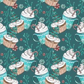Cupcakes & Pepermint Christmas