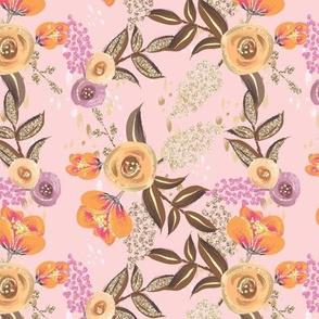 Woodland Florals // pink