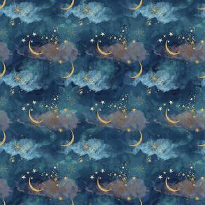 Starlight Magical Sky Moon & Stars