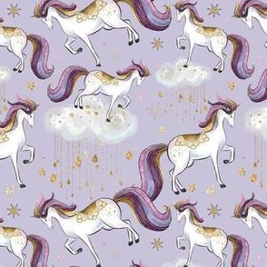 Starlight Unicorns // Purple