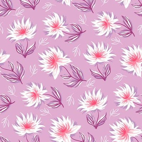 Pink-white flowers