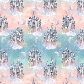 Magical Rainbow Castles in the Sky