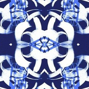 Navy blue background and white all traditional horizontal large scale