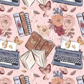 Autumn Fairytale Books Typewritter