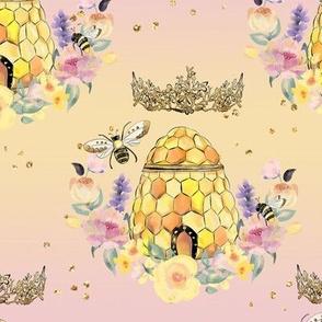 Honey Bee hive & Crown