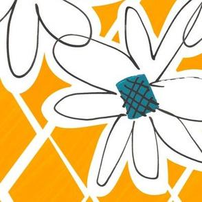 Daisy chain -Sunflower - Huge!