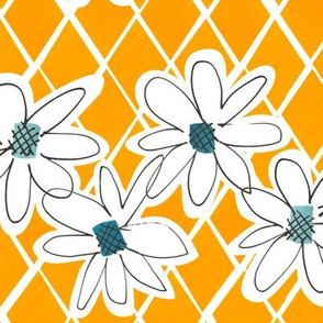 Daisy chain - Sunflower - medium