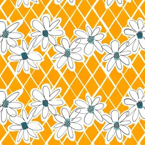 Daisy chain -Sunflower - small