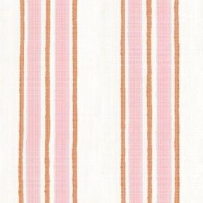 Pink and Orange Anderson Stripe