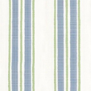 Blue  and green Anderson Stripe