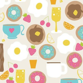 Sunday Brunch Breakfast Food & Drink