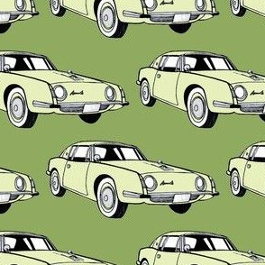 1963 Studebaker Avanti in greens