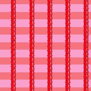 Pinky Stripes Red Vines